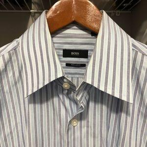 🧚🏽♀️BOSS Hugo Boss dress shirt 16 32/33